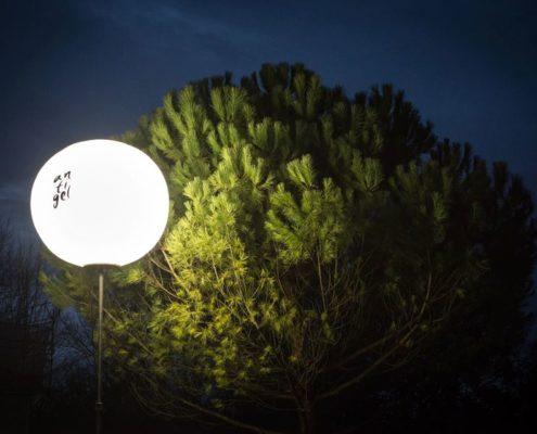 Ballon Lumineux - Festival Antigel 2017
