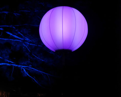 Ballon Lumineux - Ballon couleur
