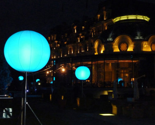 Ballon LED - Lausanne Palace