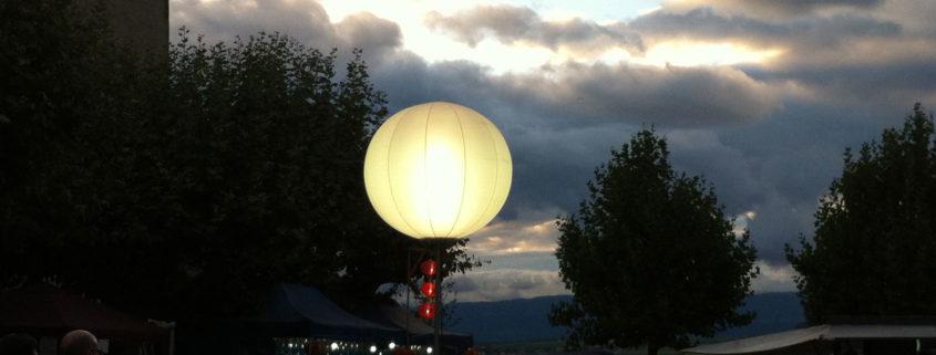 Ballon Lumineux - Avenches Tattoo