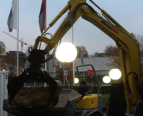 Ballon Lumineux - Éclairage lors de travaux