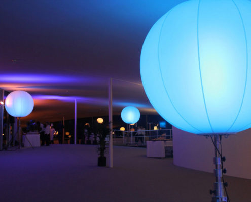 Ballon Lumineux - Rolex Center - EPFL