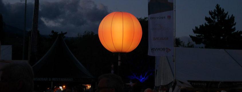 Ballon Lumineux - Sion sous les Étoiles 2016