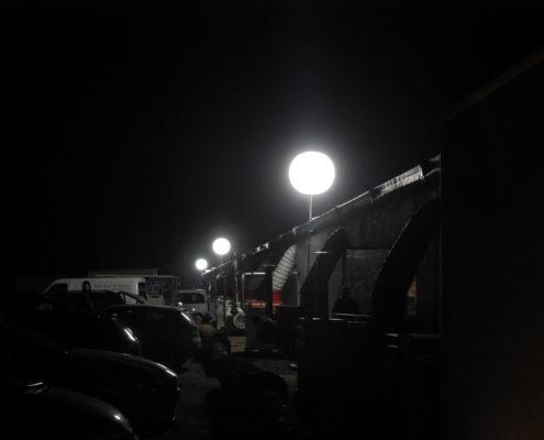 Ballon Lumineux - Comptoir Broyard - Sortie arrière des cantines