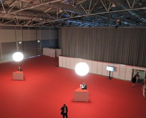 Ballon Lumineux - Expo Eular - Rome