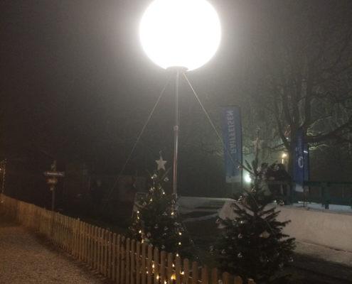 Ballon Lumineux - Village de l'Avent - Fribourg 2016