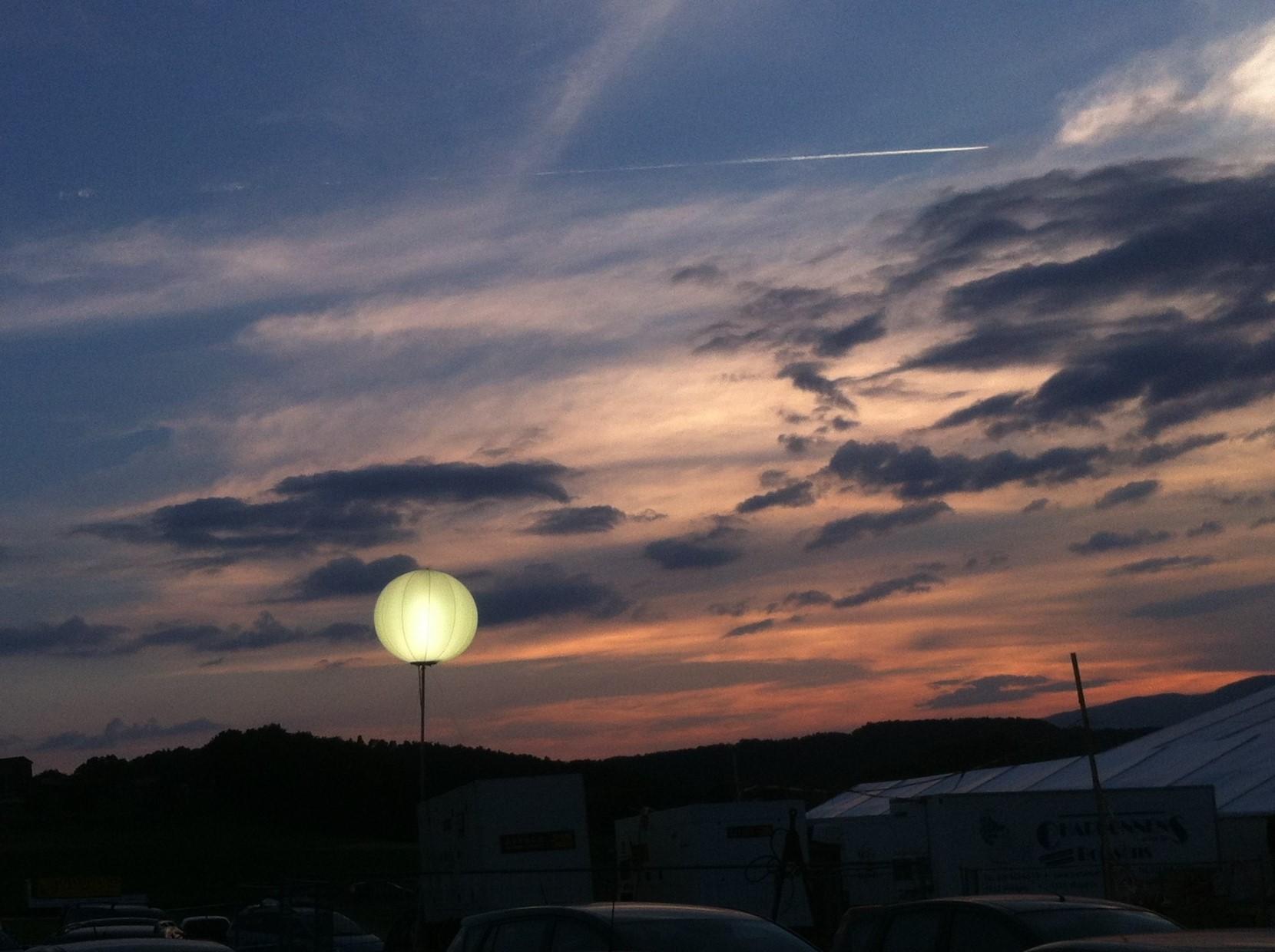 Ballon Lumineux - crépuscule